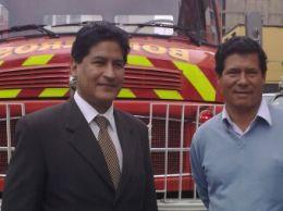 bomberos en Valle Sagrado del Cusco