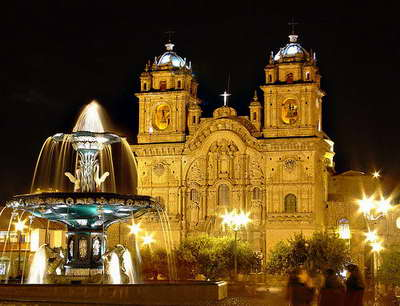 plaza armas cusco