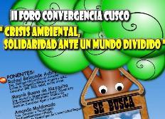 Foro ambientalista en el Cusco
