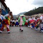 Carnavales en el Cusco
