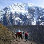 Montañismo en el Salcantay